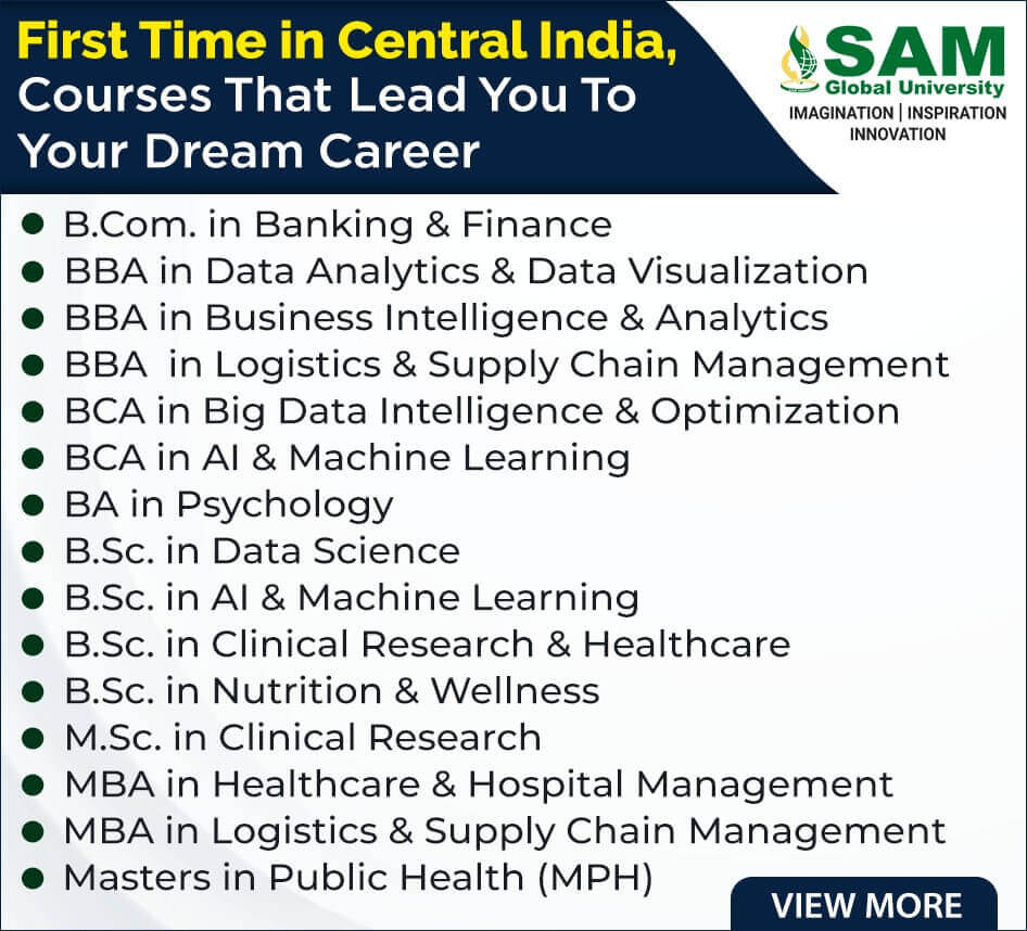 SAM Global University Bhopal